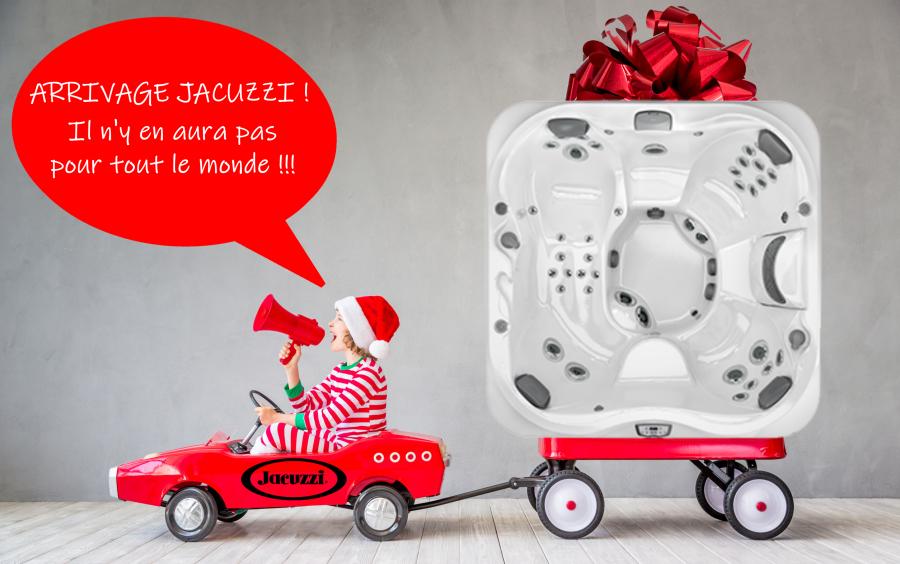 Arrivage jacuzzi Aquaconcept noel 2020