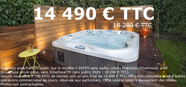 promotion spa JACUZZI Brest J355